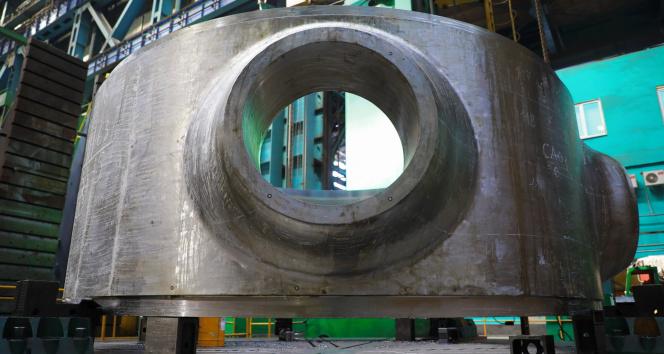 Akkuyu NGS'nin 3. ünitesi için nükleer reaktör üretimine başlandı