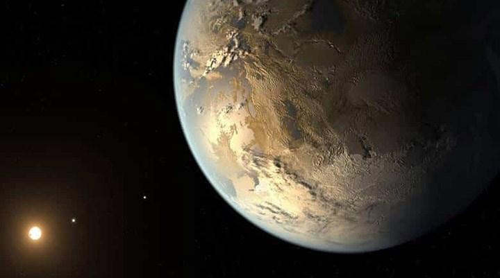 Dünya ve Güneş'in yansıması bir yıldız ve öte gezegen keşfedildi