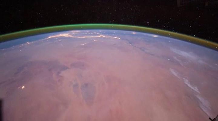 Mars atmosferinde 'kuzey ışıkları' benzeri bir yeşil ışık keşfedildi